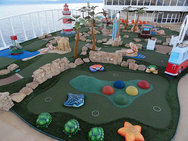 Marine interior suppliers Adventure Golf Services